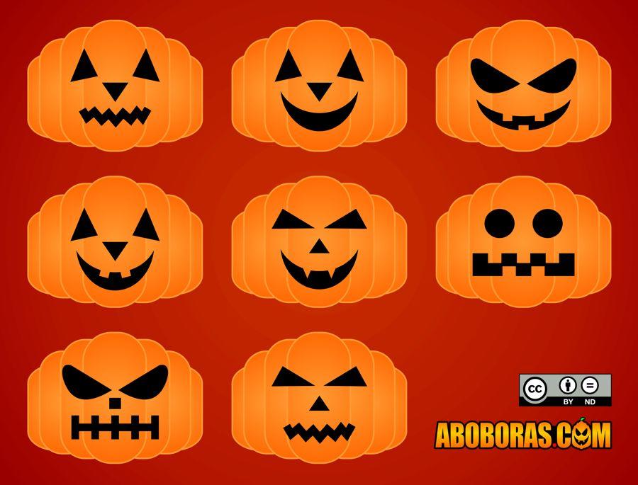 Aboboras de Halloween